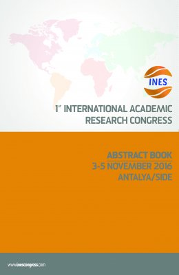 1. INTERNATIONAL ACADEMIC RESEARCH CONGRESS